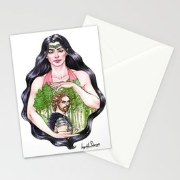 In The Shadow of Her Hand Stationery Cards