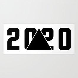 2020 Art Print