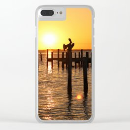 As Darkness Descends Clear iPhone Case