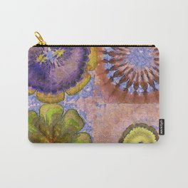 Decolouring Impression Flower  ID:16165-074738-64960 Carry-All Pouch