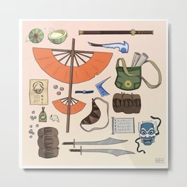 Team Avatar - Adventure Gear Metal Print
