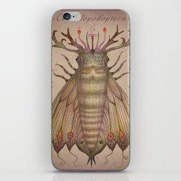 Cephalopodoptera Tab. IV iPhone Skin