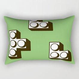 Tetromino Rectangular Pillow