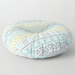 Aztec Influence Ptn Colorful Floor Pillow