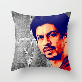 Shah Rukh Khan Throw Pillow