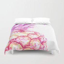 Violet pineapple Duvet Cover
