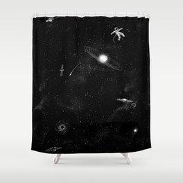 Gravity 3.0 Shower Curtain