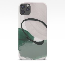 minimalist painting 01 iPhone Case
