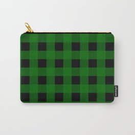 Pine Green Buffalo Check - more colors Carry-All Pouch