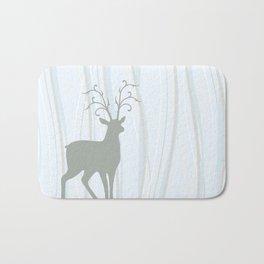Deer Illustration Bath Mat