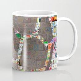 Soccer Ball on Philately Coffee Mug
