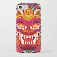 bali iPhone & iPod Cases featuring Bali Mask by Aïda de Ridder