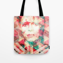 Bowie abstraction Tote Bag