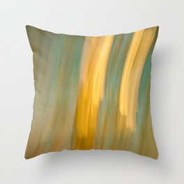 Ancient Gold and Turquoise Texture Throw Pillow