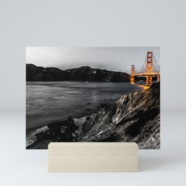 Mouth of the Golden Gate  Mini Art Print