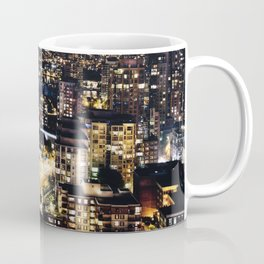 0659 Gold Luminous Yaletown Vancouver Coffee Mug