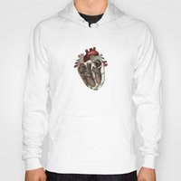 anatomical heart Hoodies featuring Anatomical Heart  by Whoosh