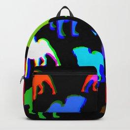 Pug Pattern Backpack