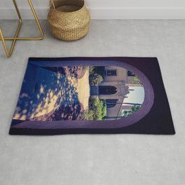 Courtyard Fox Hall Corrin Hall Rollins College Winter Park Central Florida Orlando Rug
