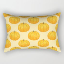 Orange Pumpkin Rectangular Pillow