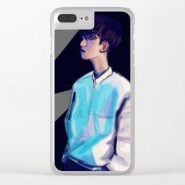 Byun Baekhyun Clear iPhone Case