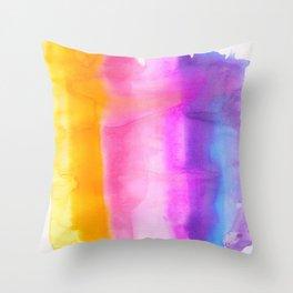 Chromatography Throw Pillow