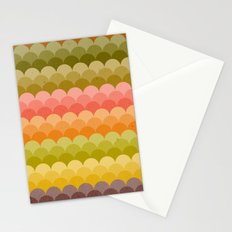 Autumn Frolic, Fall Foliage Stationery Cards