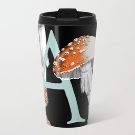 A is for Amanita muscaria Travel Mug