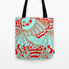 Elephant Butterfly Collection Tote Bag