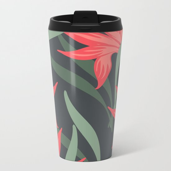 Flowers -a1 Metal Travel Mug