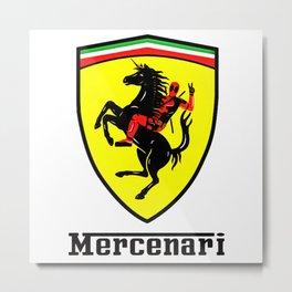 mercenari Metal Print