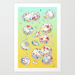 JAW BREAKERS Art Print