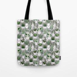Face Vase Tote Bag