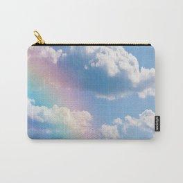 Sunny Rainbow Sky Dream Carry-All Pouch