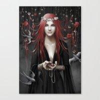 passion Canvas Prints featuring Passion by Nicolas Jamonneau