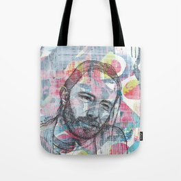 Thom Yorke - We Suck Young Blood Tote Bag