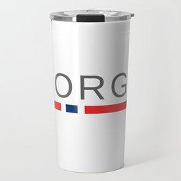 Norway Norge Travel Mug