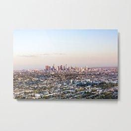 Los Angeles Skyline Metal Print