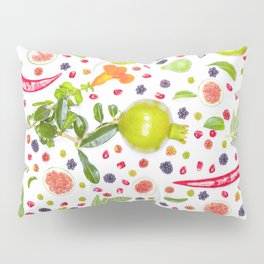 Fruits and vegetables pattern (7) Pillow Sham