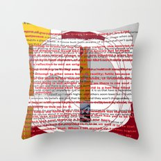 word pillow poems 01 Throw Pillow