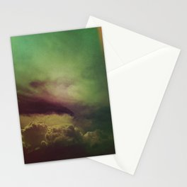 rising clouds Stationery Cards