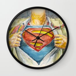 Superman - Fictional Superhero Wall Clock