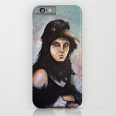 Raven girl iPhone 6 Slim Case