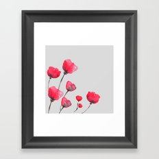 POPPIN' POPPIES  Framed Art Print