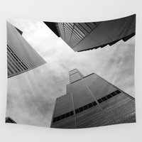 chicago Wall Tapestries featuring Chicago by Gold Street Photography