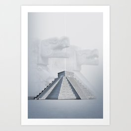 Chichen Itza, Mexico Art Print