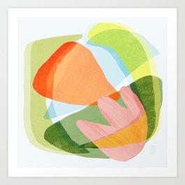 Spring Salad Art Print