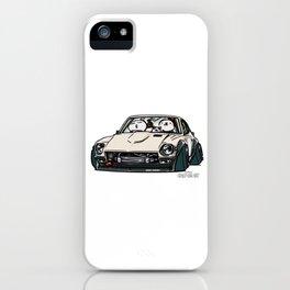 Crazy Car Art 0155 iPhone Case
