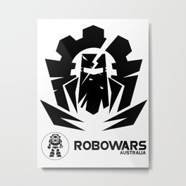 robowars 2 Metal Print