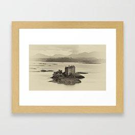 Castle Stalker Framed Art Print